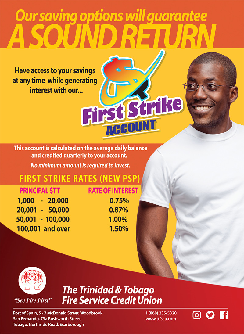 Savings - First Strike Account