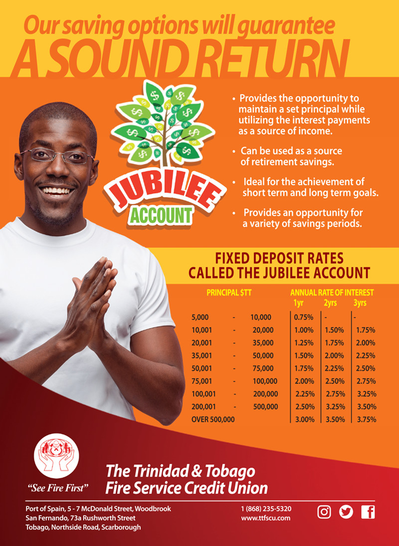 Savings - Jubilee Account