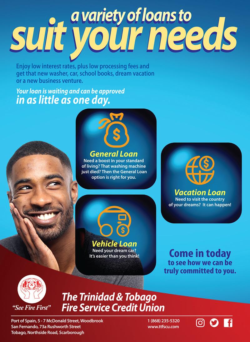 Loans Offerings Flyer - Male