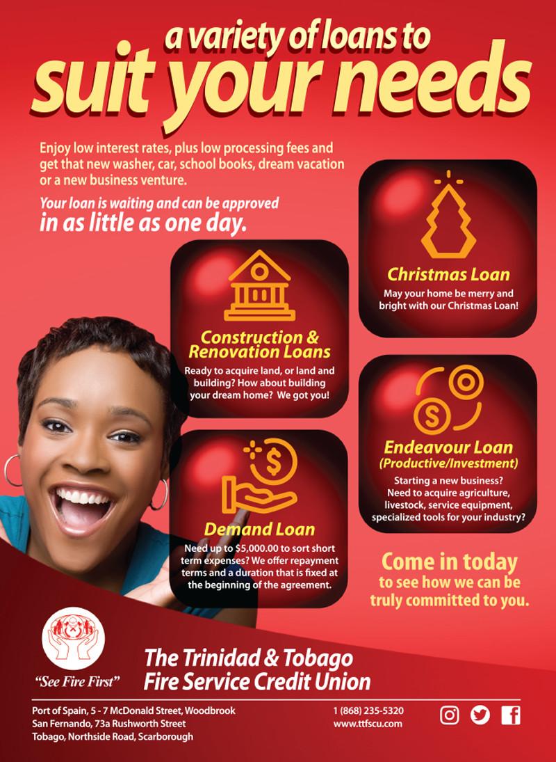 Loans Offerings Flyer - Female
